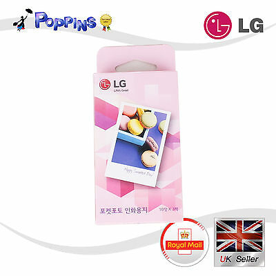 3X 10 Sheets LG Print Paper Film ZINK for Pocket Photo PD221 PD233 PD239 PD251