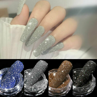 Nail Glitter Powder Holographic Nail Art Chrome Pigment Manicure Decoration Tips
