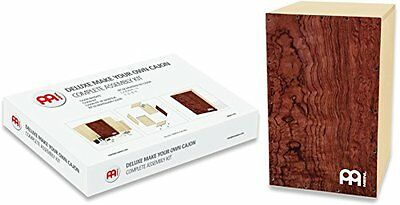 "Meinl Percussion DMYO-CAJ-BU - Kit Deluxe ""Make Your Own Cajon"", con tutti gli a"