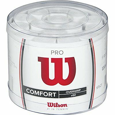 Wilson Wrz4024Wh Overgrip, Bianco, NS