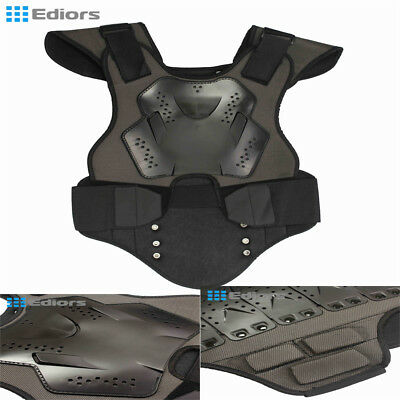Youth Boy Motorcycle Vest Guard Chest Protector ATV Dirt Bike Bicycle Body Armor