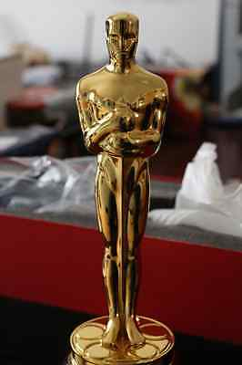 New golden-plated metal 1:1 Oscar Awards Oscars Statue ornaments Height 34cm