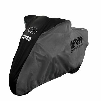 Oxford Dormex Indoor Motorcycle Dust Cover XL Motorbike Covers Black Grey