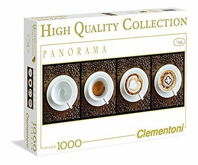 Clementoni 39275 - Caffè - Puzzle High Quality Collection Panorama 1000 pezzi