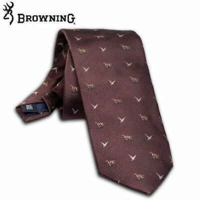 Browning Chambord Shooting Tie - Brown