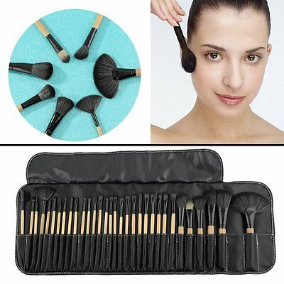 32pcs Makeup Brushes Set Tools  Foundation Eyeshadow Eyeliner Superior Soft FG