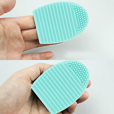 1pc Cleaning Cosmetic Makeup Brush Foundation Brush Silicone Cleaner Tool FG