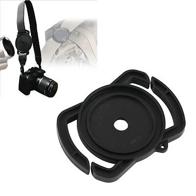 Camera Lens Cap Holder Buckle Safety Keeper Anti-lost for 52mm 58mm 67mm FG