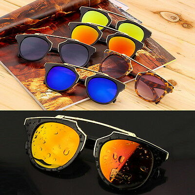 Unsex UV400 Cat Eye Vintage Sunglasses Driving Outdoor Sports Eyewear Glasses FG