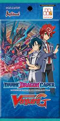 Cardfight!! Vanguard G - Divine Dragon Caper Booster Pack - 15% Off Rrp