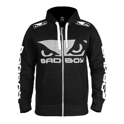 BAD BOY WALKOUT 3.0 HOODIE - BLACK Training Sparring GYM MMA