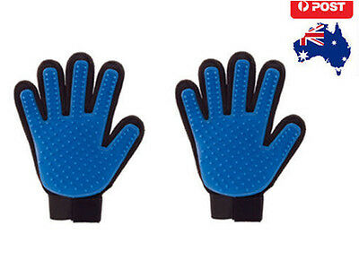 2PCS True Touch Deshedding Glove for Gentle and Efficient Pet Grooming Fast Ship
