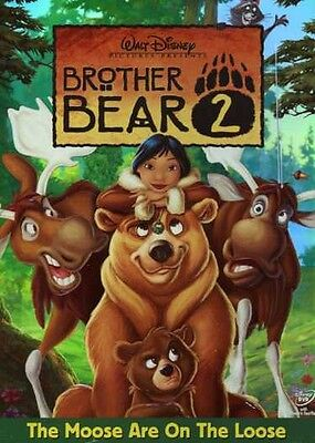 Brother Bear 2 (2006, DVD NUOVO) WS (REGIONE 1)