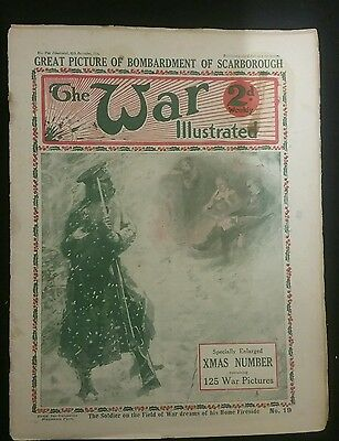 The War Illustrated WW1 #19 ( 20 Dec 1914 )Picture of Bombardment of Scarborough