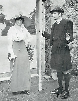 Viscount Viscountess Duncannon At Bessborough Vere Ponsonby 1912 Photo Article