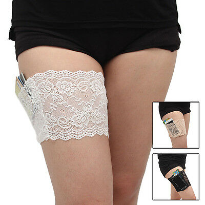 Women Thigh Band Anklets Prevent Thigh Chafing Socks Bandelettes Anti-skid