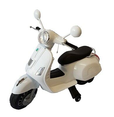 6v Vespa style kids moped scooter electric e scooter motorbike ride on