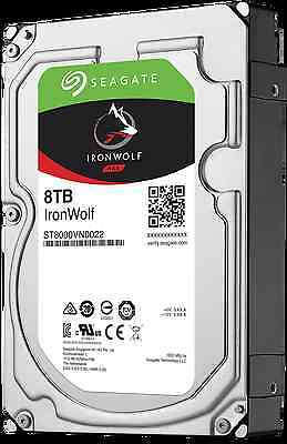 St8000Vn0022 Hdd Seagate Ironwolf Nas 8Tb Sata3 7200Rpm 256Mb