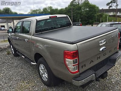 2012 - 2016 Ford Ranger Tri Folding Soft Tonneau Bed Canopy Cover 4x4 Non Drill