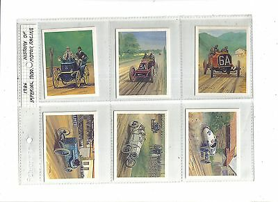 Players Tom Thumb History of Motor Racing.Imp.Tobacco Ltd.1986.Full set of 30