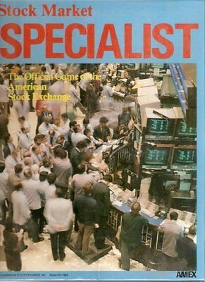 Stock Market Specialist Official Game American Stock Exchange New Sealed