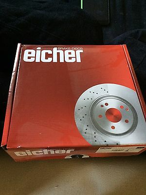Ford Focus Eicher Front Brake Discs And Pads Brand New