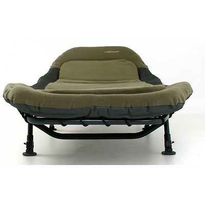 Cyprinus mem memory foam fishing bedchair deluxe carp bed camping pull out NEW