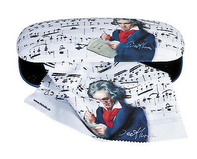 Fridolin Glasses case with lens cloth - Beethoven