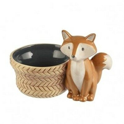 Grasslands Road Small Fox Bowl 5.75' L, Brown