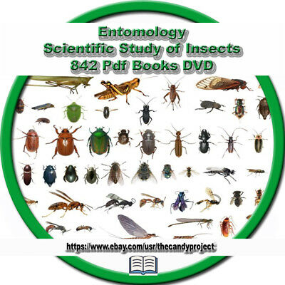 5 DVDs Entomology Scientific Study of Insects Zoology Arachnids Bugs Spiders