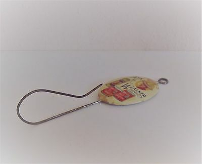 Antique Celluloid Advertising Billhook for Walker Austex Mexican Food Products