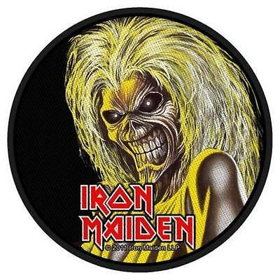 Official Licensed - Iron Maiden - Killers Face Sew On Patch Metal Eddie