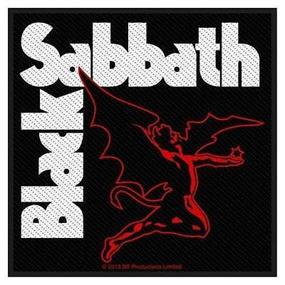 Official Licensed - Black Sabbath - Creature Sew On Patch Metal Ozzy