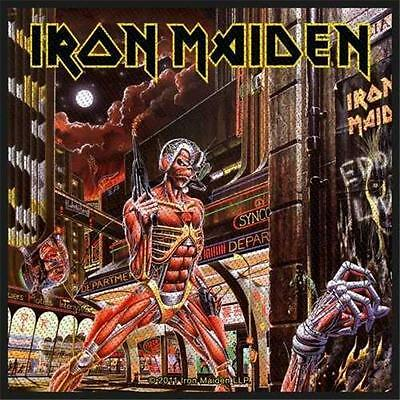 Official Licensed - Iron Maiden - Somewhere Back In Time One Sew On Patch Metal