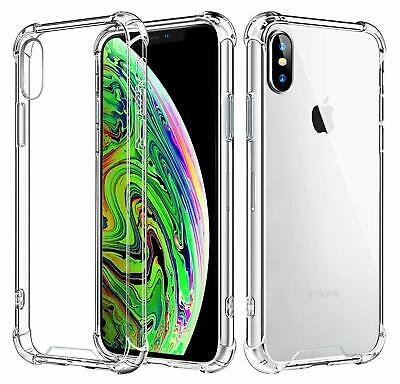Fits Apple Iphone XR Case Clear Cover Shockproof Rubber Protective TPU