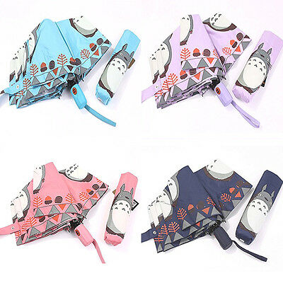 My Neighborhood Totoro Lovely Automatic Clear Telescopic umbrella UV Protection