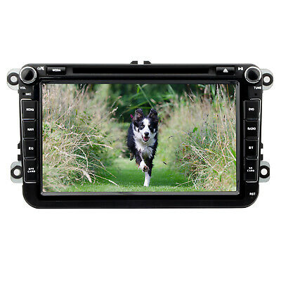 "2 DIN 8"" Car Stereo Radio DVD GPS Nav for VW Golf Passat Jetta Touran Tiguan Eos"