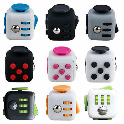 Fidget Cube Toy Anxiety Attention Stress Relief For Adult Children ADHD AUTISM Y