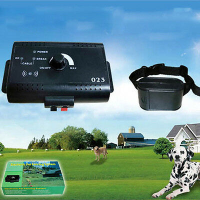 New Wireless Invisible Pet Fence System  Electronic Fence Dog Collar Waterproof