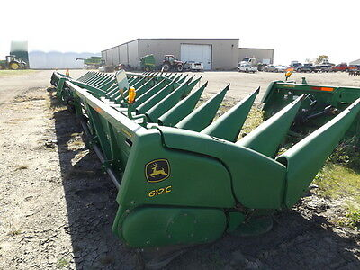 2011 John Deere 612C Headers