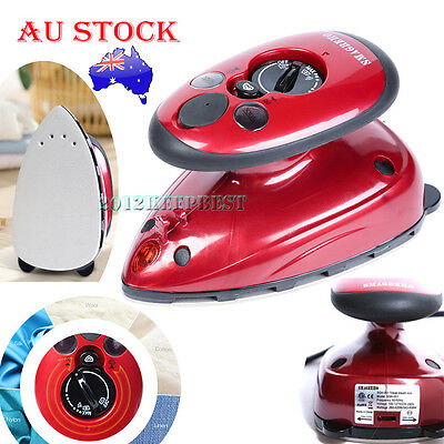 Portable Travel Handheld Iron Clothes Steamer Garment Steam Brush Hand Held Mini