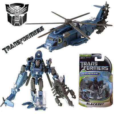 HASBRO TRANSFORMERS DOTM CYBERVERSE COMMANDER BLACKOUT ACTION FIGUR Spielzeug