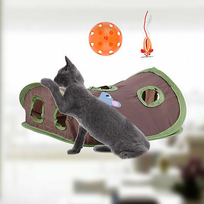 Kitten Pet Cat Motion Toy Catch Hunt Mouse Chase Interactive Training Scratchpad