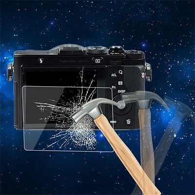 Tempered Glass Camera LCD Screen HD Protector Cover for Sony RX1/RX1R/RX10R FG