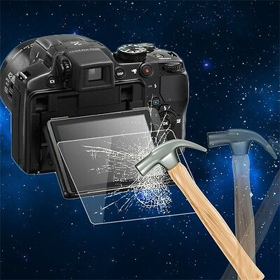 Tempered Glass Camera LCD Screen HD Protector Cover for Nikon P510/P530/P340 FG