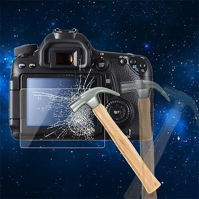 Tempered Glass Camera LCD Screen HD Protector Cover for Canon 70D/700D FG