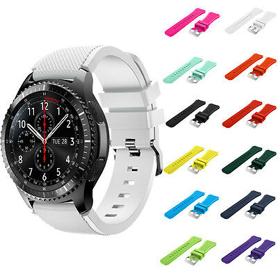 Luxury Samsung Gear S3 Frontier Classic Watch Strap Silicone Armbanduhr Armband