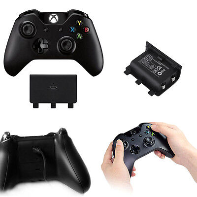 2400mAh Rechargeable Battery With USB Cable For Xbox One Games Controller FG
