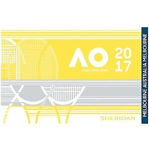 Australian Open 2017 Ladies Tennis Handtuch Gym Towel Rarität