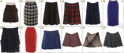 JOB LOT OF 45 VINTAGE SKIRTS  - Mix of Era's, styles and sizes (19158)*